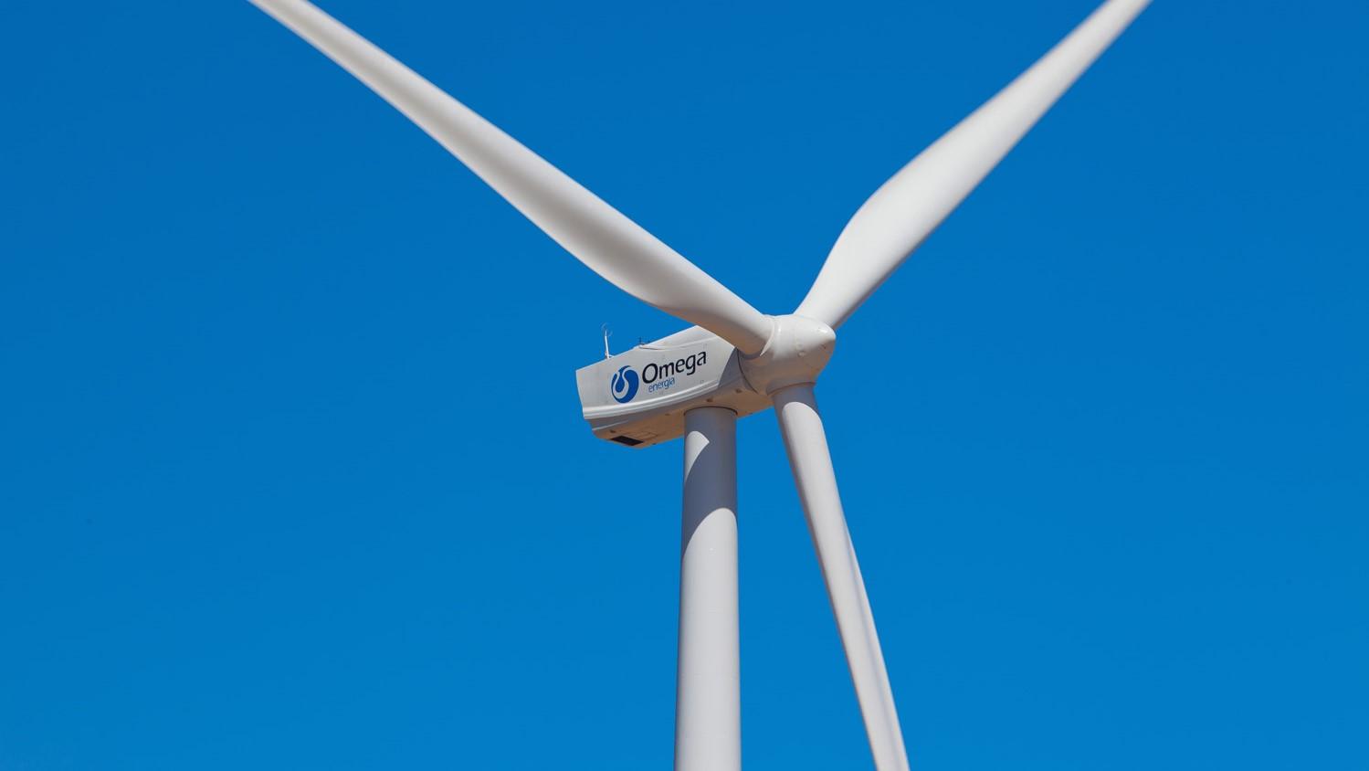 Turbina de vento da omega energia