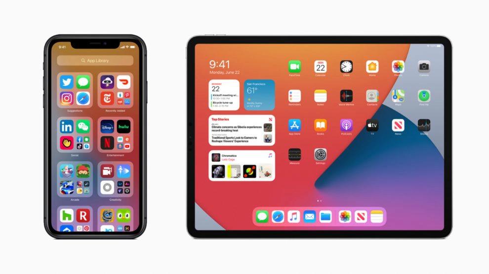 Tablet e iphone com atualização do ios, um dos melhores da semana