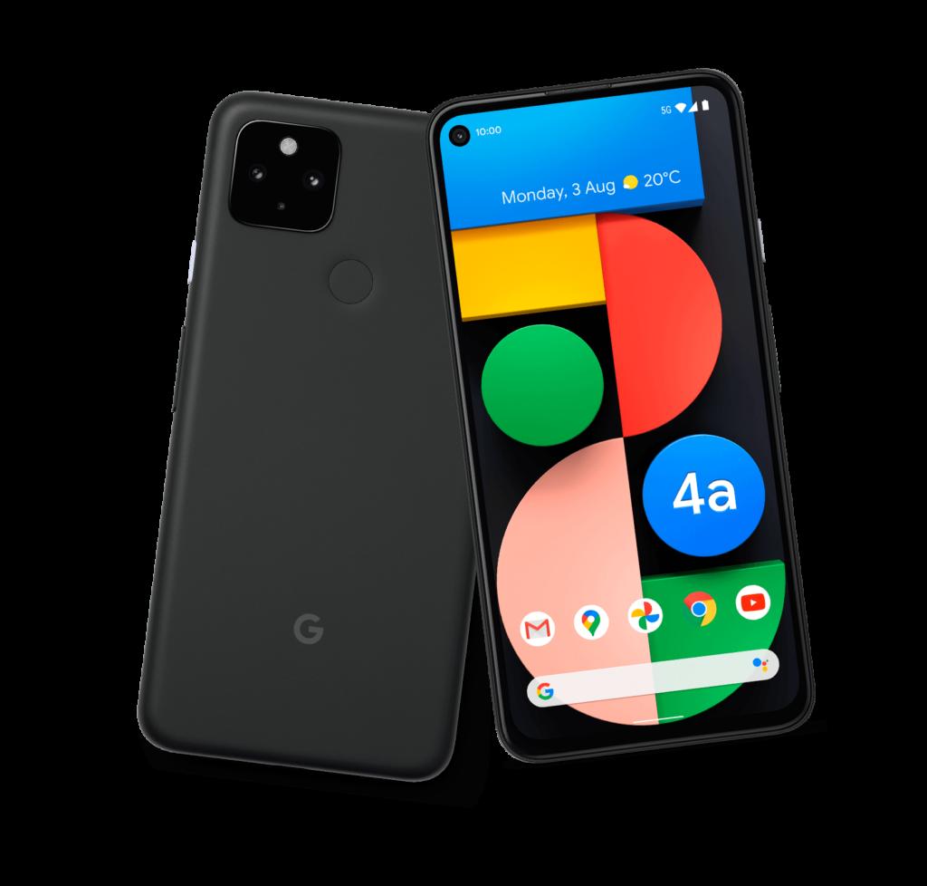 O pixel 5 estará disponível nas cores preta e verde