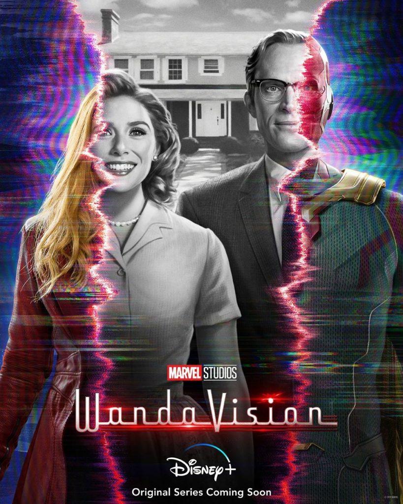 Pôster da série WandaVision
