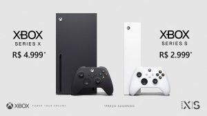 Preço do Xbox Series S e Series X: R$ 2.999 e R$ 4.999 e chegam em novembro no Brasil