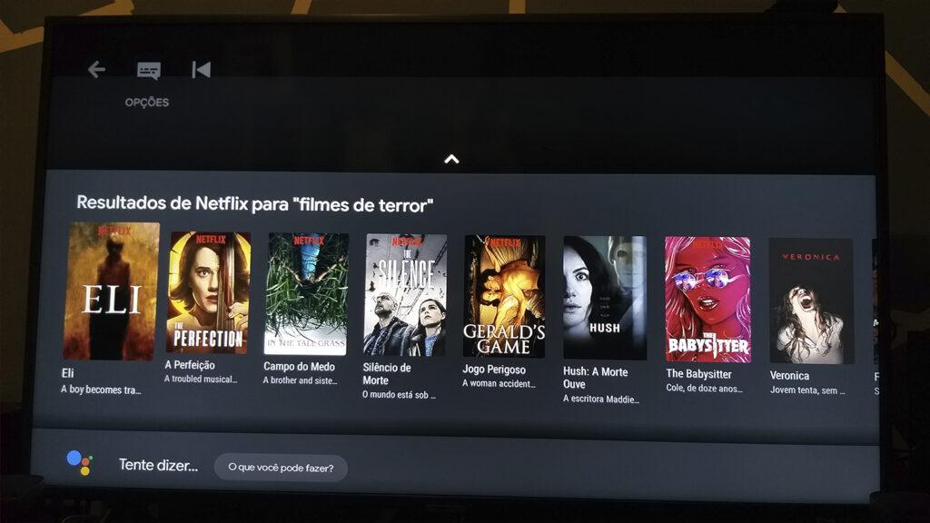 Mi tv stick sugestões da netflix