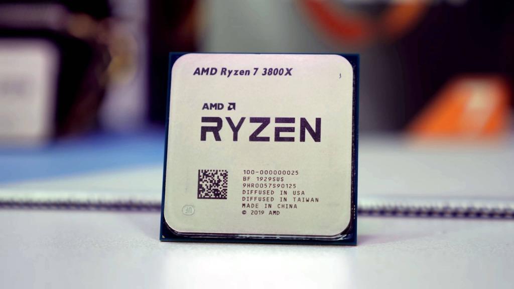 O Ryzen 7 3800X é o nosso processador para montar um PC com as configurações do Xbox Series X