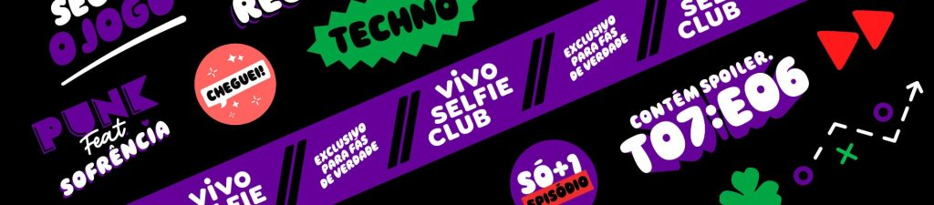 Vivo Selfie Club: campanha da Vivo busca gerar engajamento com o público jovem (Imagem: Divulgação/Vivo)