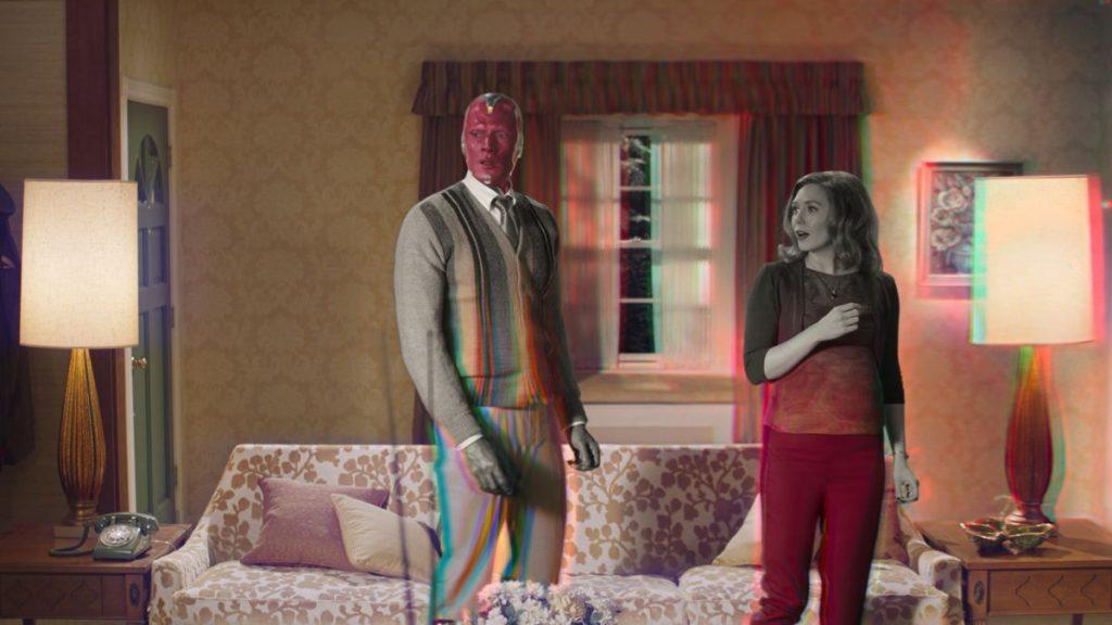 Cena do trailer de WandaVision