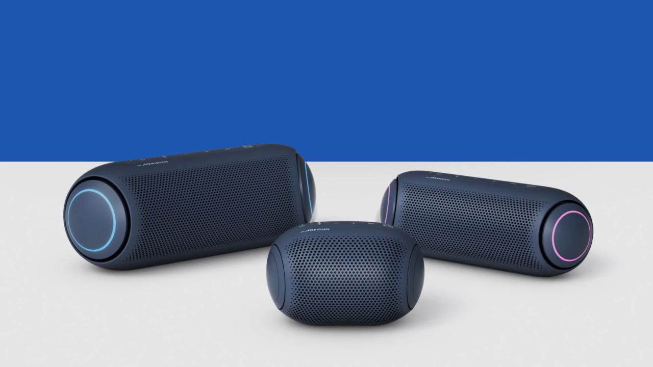Review: caixa de som lg xboom go pl7 tem forte bateria e som de primeira