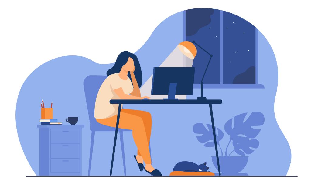 Com a pandemia, trabalhar fora do horário se tornou algo ainda mais comum