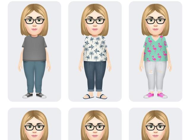 Avatar do face roupas