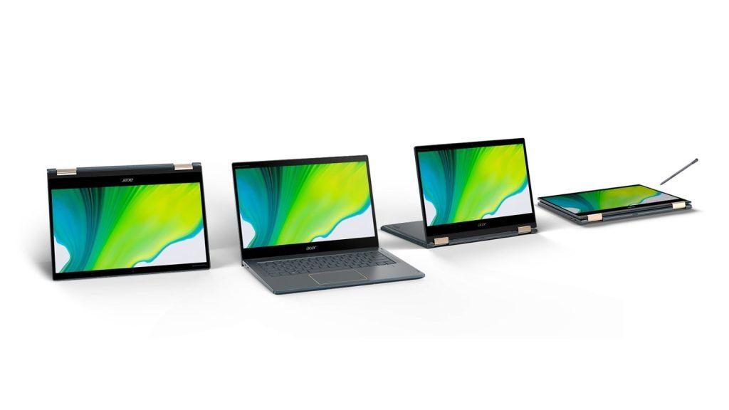 Imagem do Acer Spin 7, um dos novos notebooks Acer
