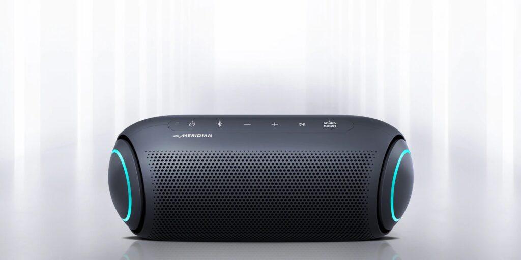 Imagem do modelo PL7 das novas XBOOM Go PL da LG