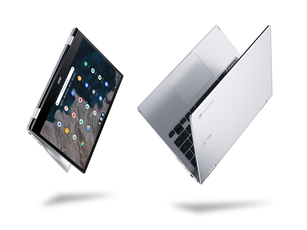 Imagem do Acer Chromebook Spin 513, um dos novos notebooks Acer