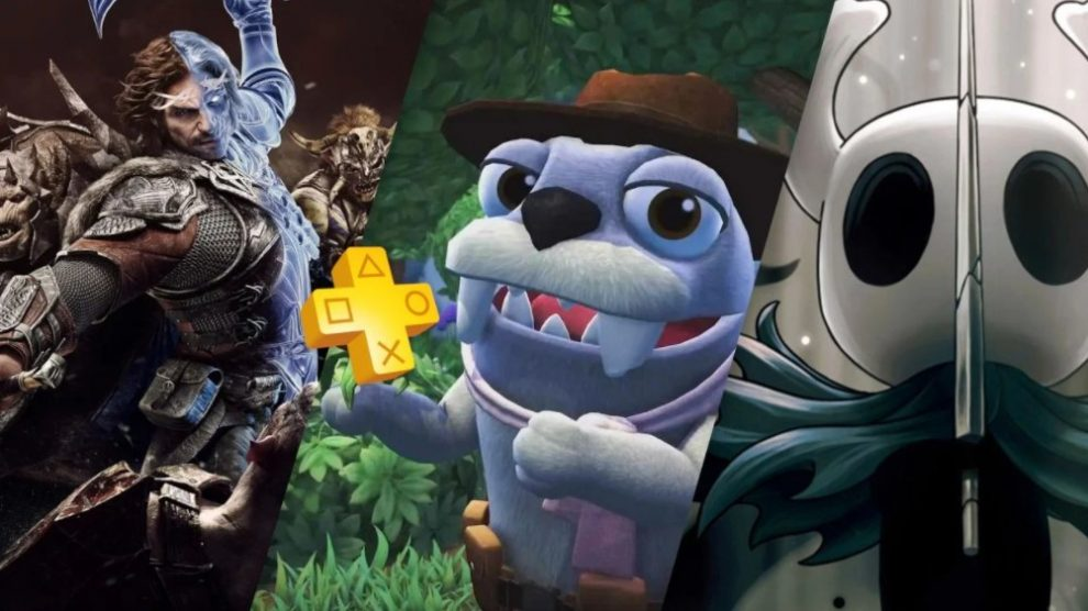 PS Plus de novembro traz Bugsnack, Shadow of War e Hollow Knight