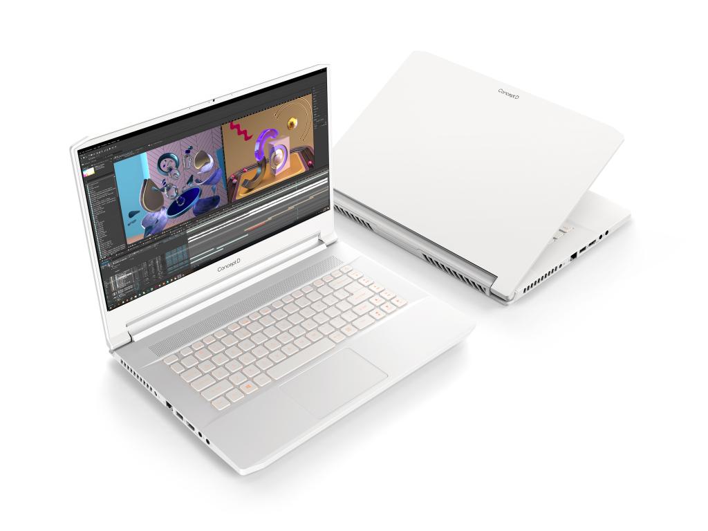 Imagem do Acer ConceptD 7, um dos novos notebooks Acer