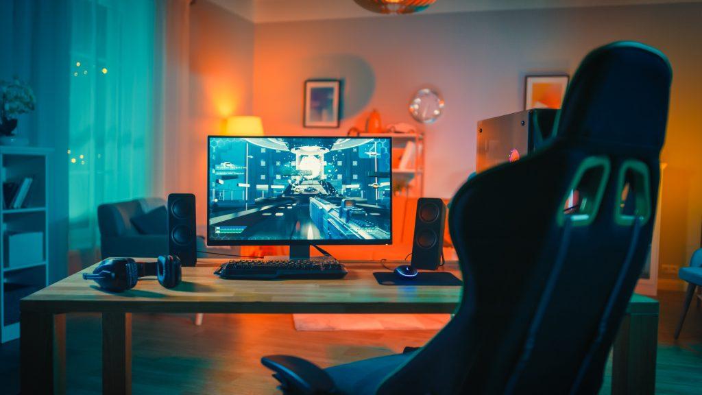 setup gamer cadeira