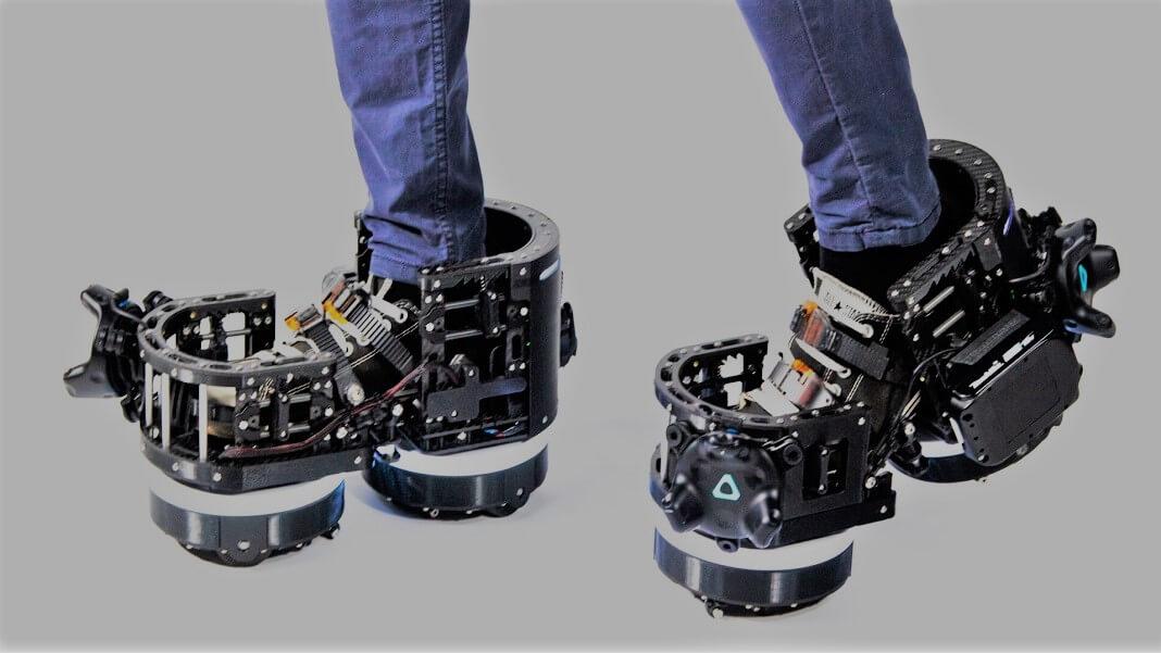 A ekto vr desenvolveu um par de botas vr para auxiliar a jogatina em realidade virtual.
