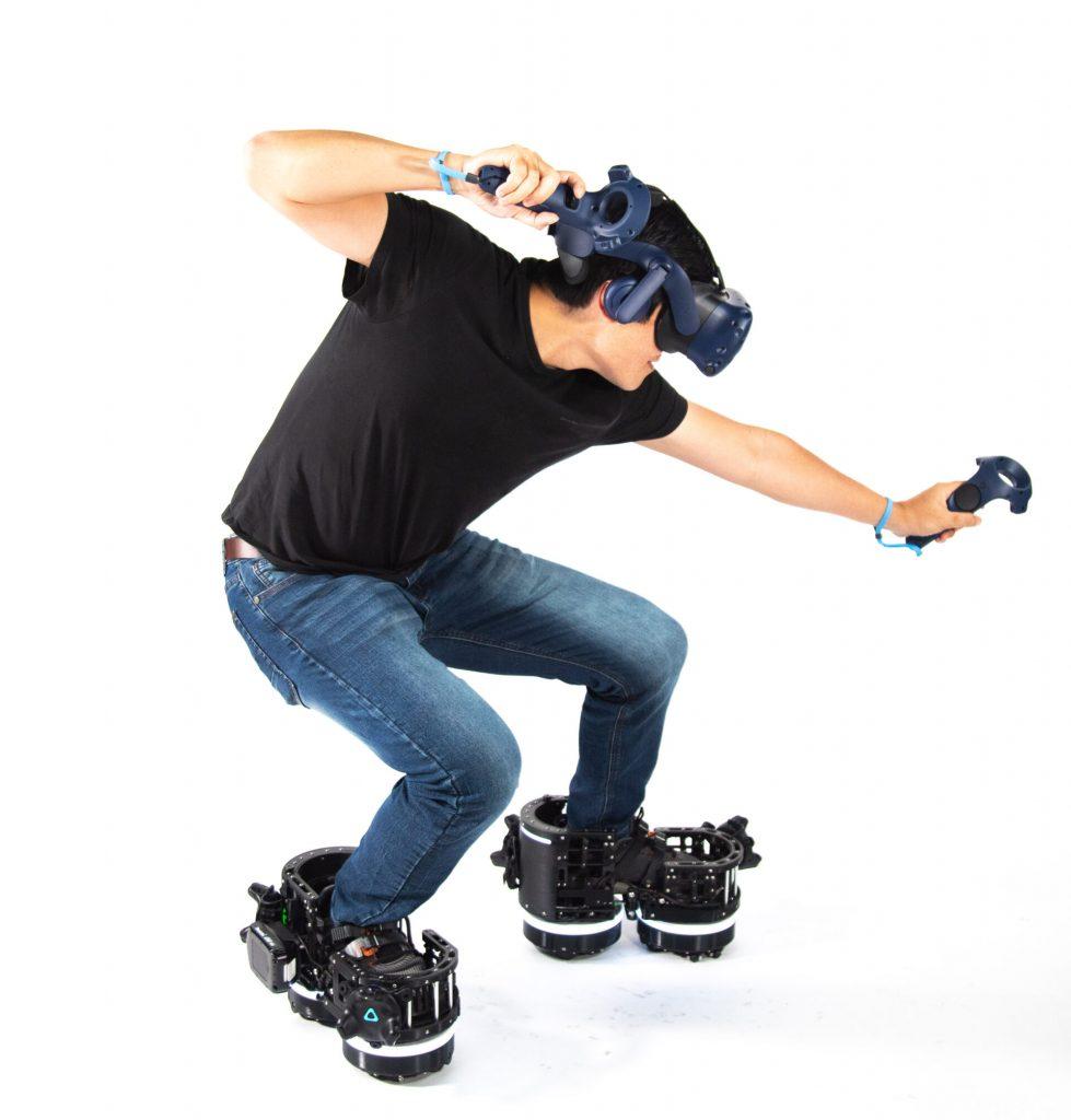 As botas VR podem formar um conjunto perfeito com outros aparelhos de realidade virtual
