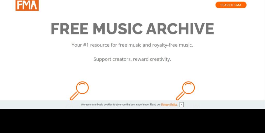 Free Music Archive é mais um dos sites para baixar músicas de graça, feito por meio da junção de várias rádios comunitárias