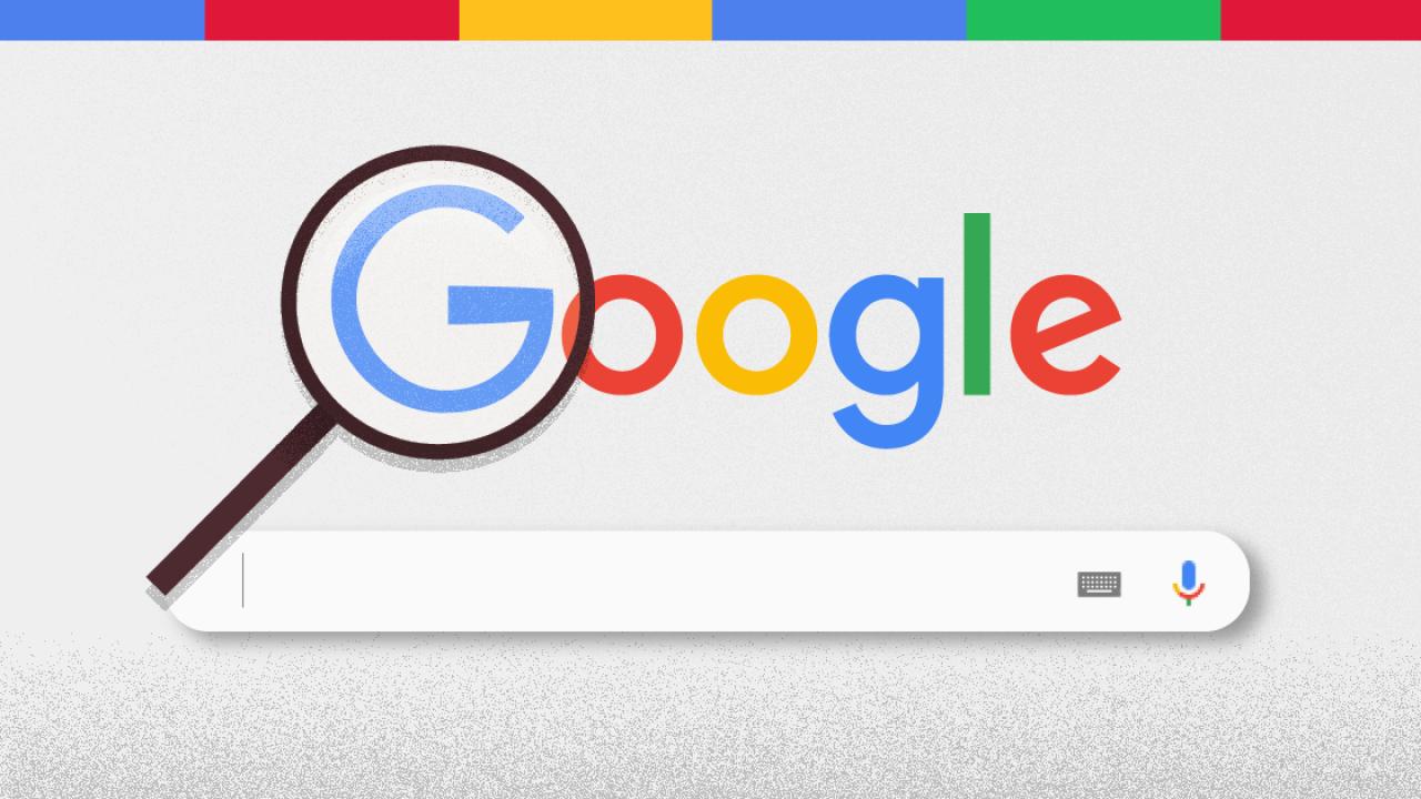 Busca do google destaque