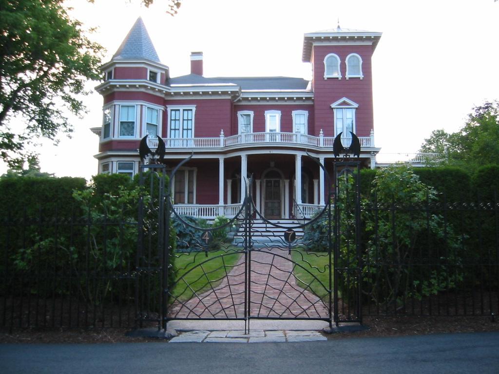 Casa de Stephen King em Maine, nos EUA. Foto: Julia Ess via Wikimedia Commons / CC BY-SA 3.0.
