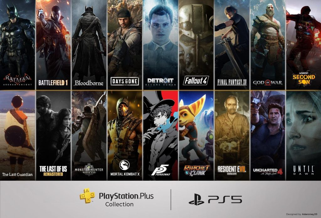 Ps plus de novembro também oferece a playstation plus collection