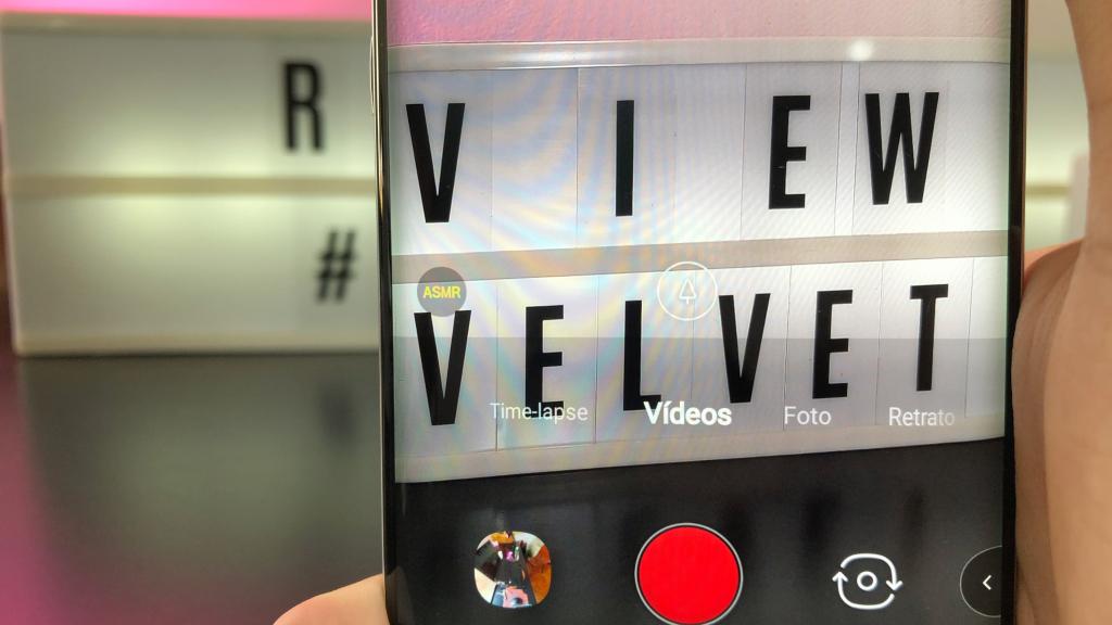Modo ASMR do vídeo do LG Velvet