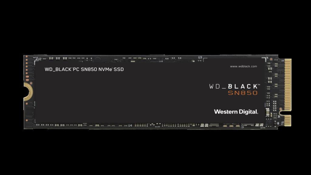 Ssd nvme wd_black sn850 da wd_black