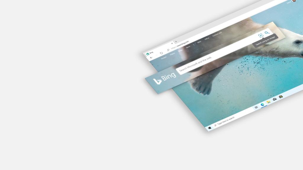 Imagem do Bing no Windows 10