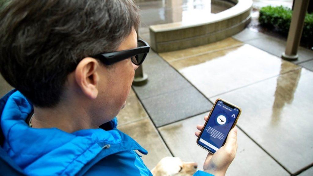 Soundscape e seeing ai são apps para acessibilidade