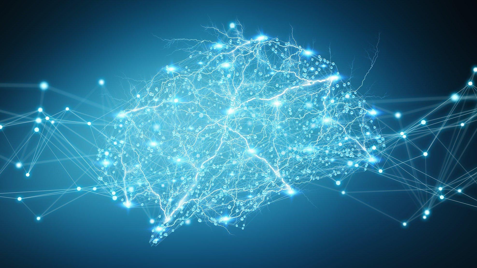 Ilustração digital do custo das redes neurais