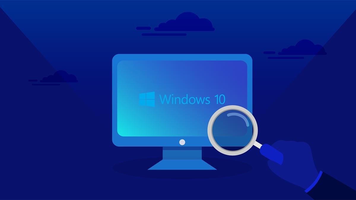 Ilustração de como desativar o Bing da busca do Windows 10