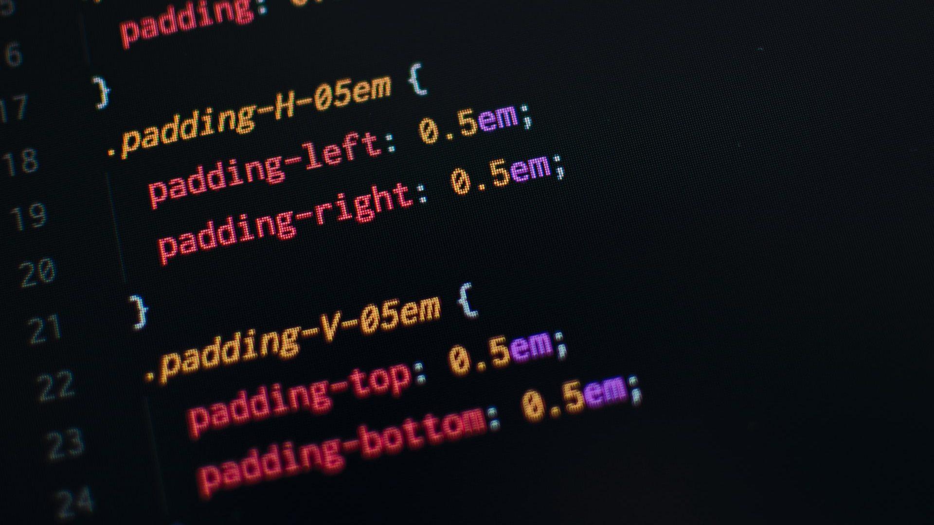 Em imagem, uma programação css para o site. Conheça dicas de css simples