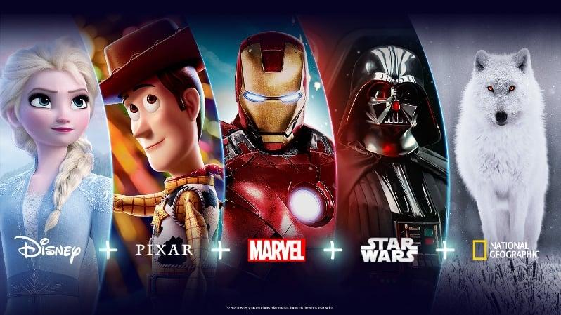 Imagem do conteúdo exclusivo do Disney Plus