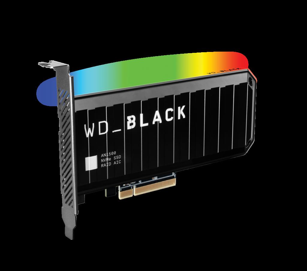 Cartão de expansão ssd nvme wd_black an1500