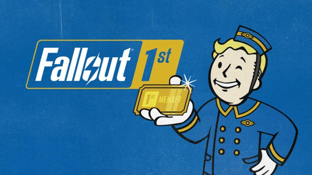 Imagem promocional da assinatura fallout 1st
