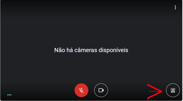 desfocar o fundo no google meet