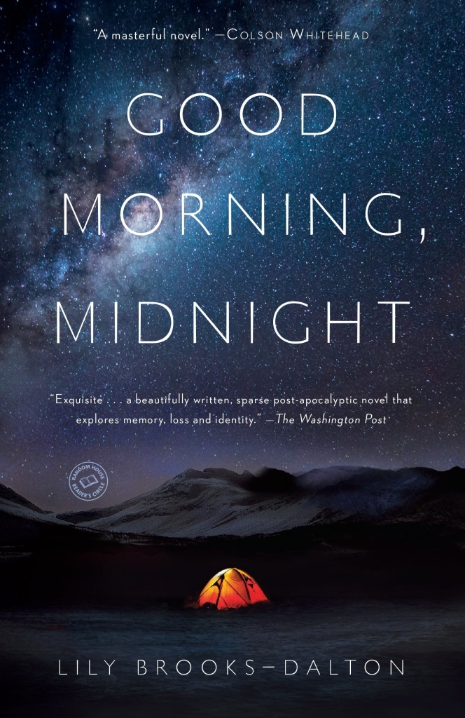 """Capa da livro """"Good Morning, Midnight"""", que deu origem à """"O Céu da Meia-Noite"""""""