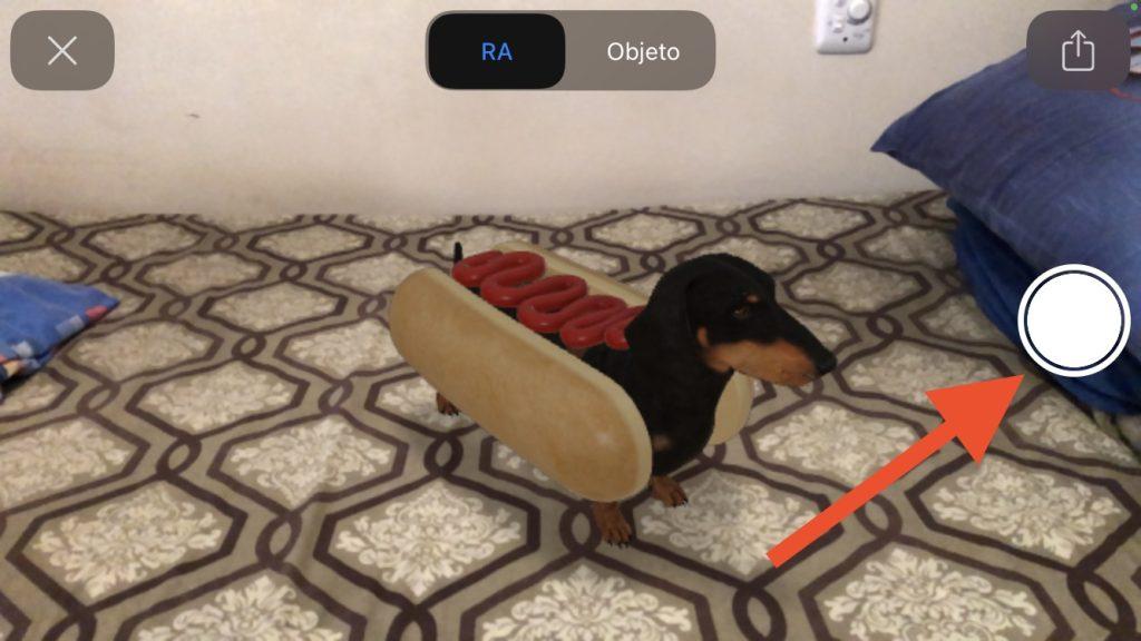 Print do cachorro 3d do halloween do google