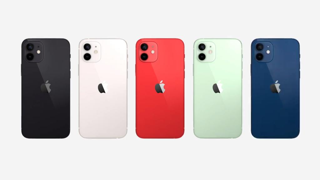 Imagem dos novos iphone 12