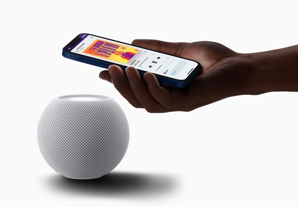 Integração do HomePod mini