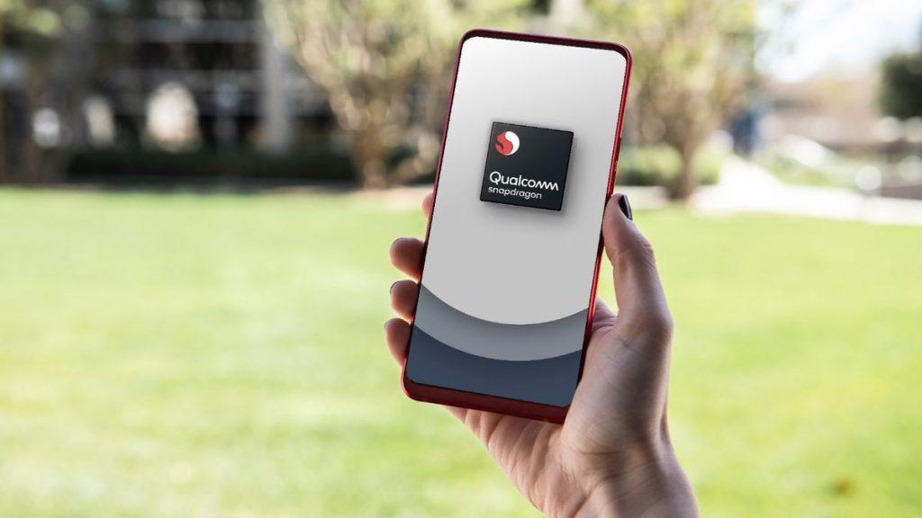 Imagem de celular com snapdragon 860, que deve ser lançado no qualcomm tech summit 2020