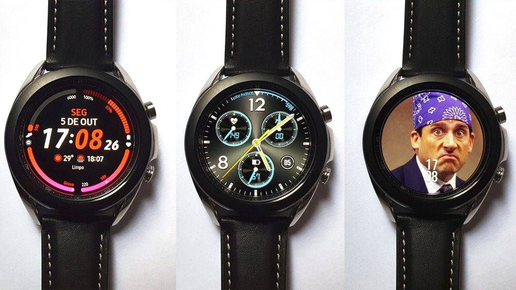 Galaxy watch 3 facewatch personalizado