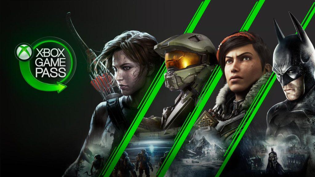 Xbox game pass oferece diversos jogos, incluindo lançamentos