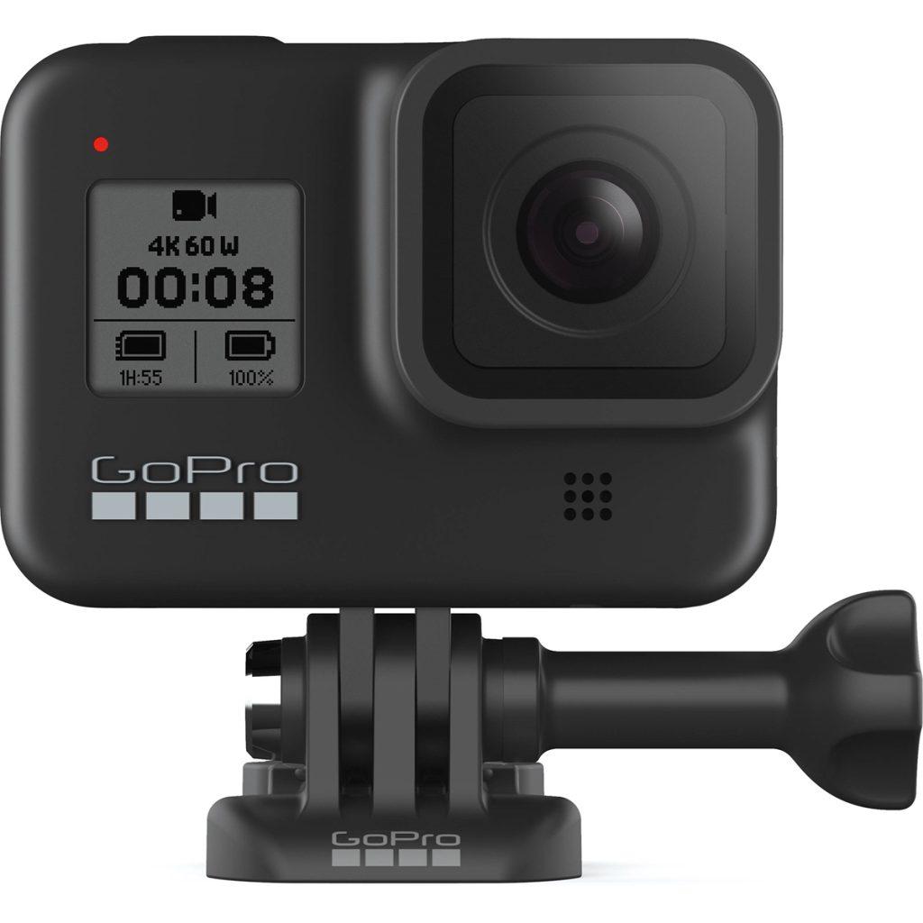Gopro hero 8 black  é uma das melhores câmeras na black friday