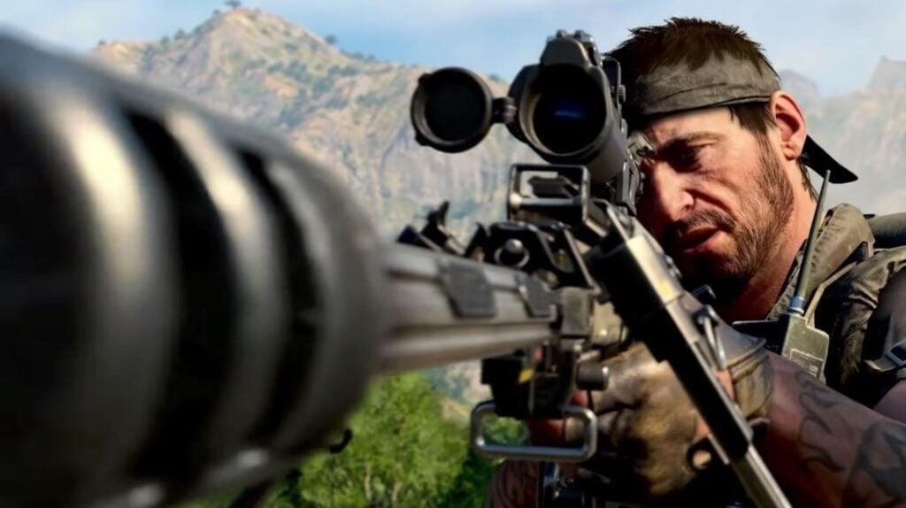 Atirador em call of duty: black ops - cold war