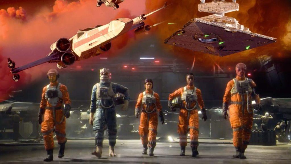 Star wars: squadrons com desconto na black friday da ea
