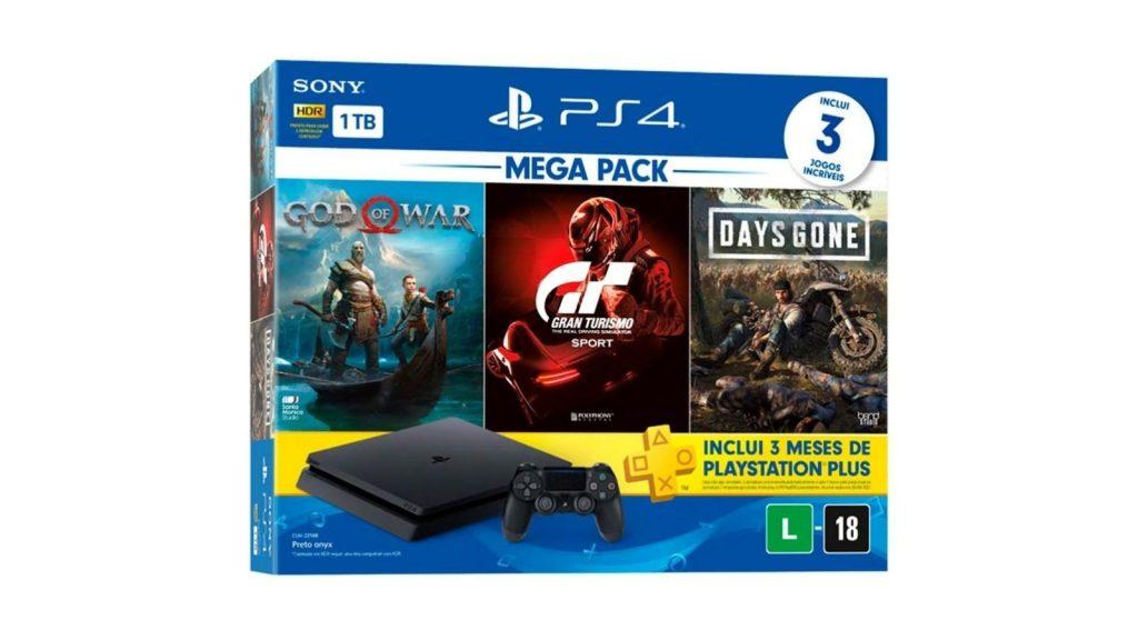 Imagem de playstation, que é um dos videogames na black friday