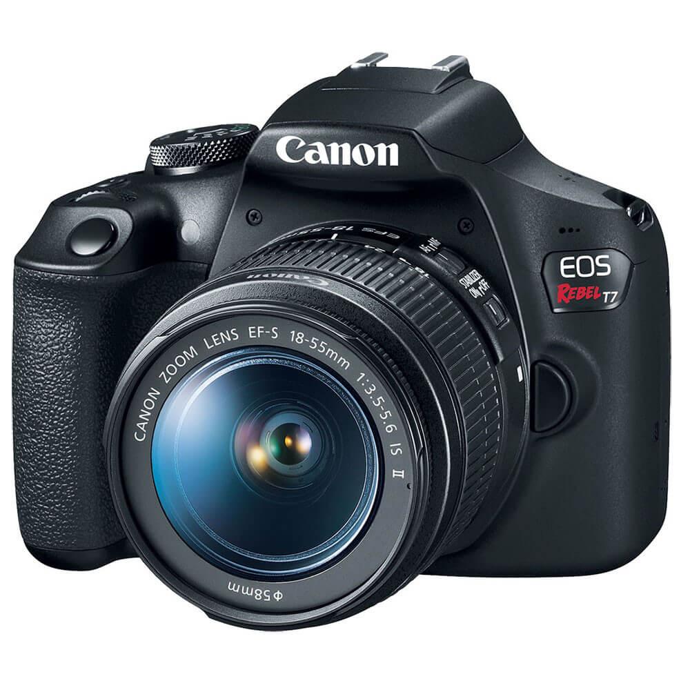A canon eos rebel t7  é uma das melhores câmeras na black friday