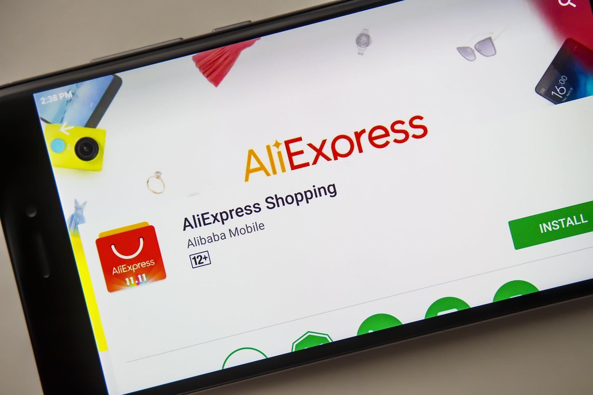 As compras no aliexpress tem crescido cada vez mais no mundo