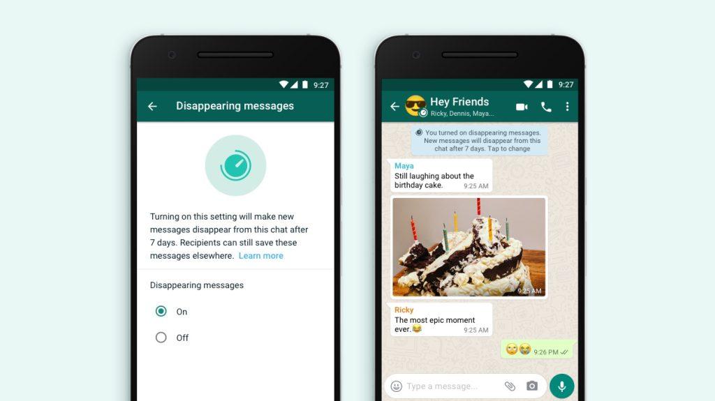 Whatsapp lança recurso que permite apagar mensagens após 7 dias