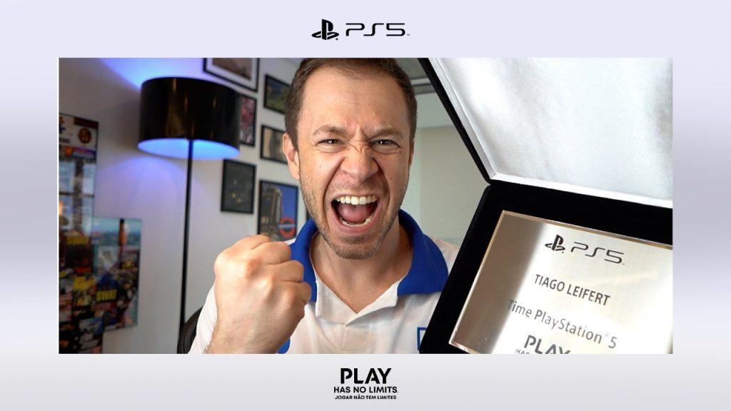 Tiago leifert playstation 5